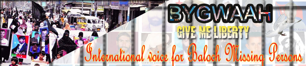 International Voice for Baloch Missing Person The state terrorism in the form of enforced disappearances
