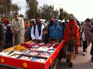 Families of missing Baluch march for justice