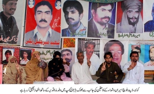 <a href='http://www.bygwaah.com/modules/editorials/article.php?storyid=30'>Enforced Disappearances and extra judicial killings: Systematic Genocide in Balochistan</a>