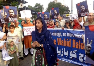 If I'm standing before you today, it may be you tomorrow, says Wahid Baloch's daughter